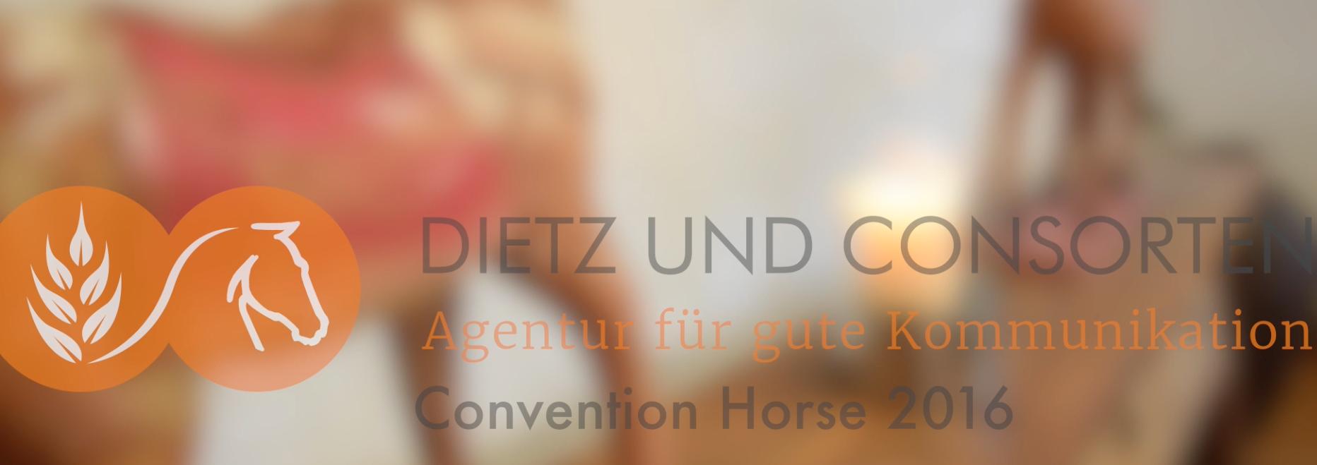 Die Vorträge der Referenten zur Dietz & Consorten Convention Horse 2016 sind jetzt online verfügbar - Featured Image